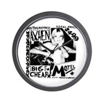 "AXEMEN ""Big Cheap Motel"" LP Wall Clock"