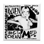 "AXEMEN ""Big Cheap Motel"" LP Tile Coaster"