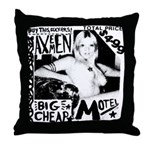 "AXEMEN ""Big Cheap Motel"" LP Throw Pillow"
