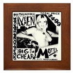 "AXEMEN ""Big Cheap Motel"" LP Framed Tile"
