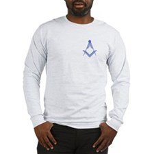 Square & Compass Long Sleeve T-Shirt