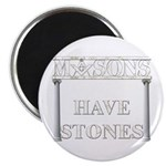 Masons Stones Magnet