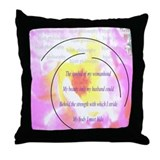 Hijab Philosophy Throw Pillow