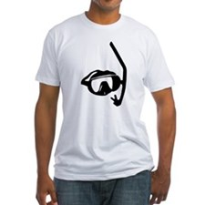 diving goggles and snorkel Shirt