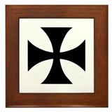 Iron Cross Framed Tile
