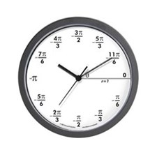 Cute Identity Wall Clock