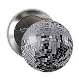 Shiny Disco Mirror Ball Button