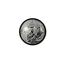 Shiny Disco Mirror Ball Mini Button