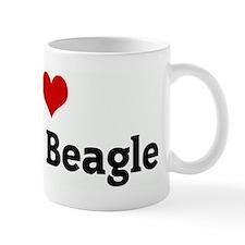 I Love My Fat Beagle Mug