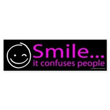 Smile Purple (sticker)