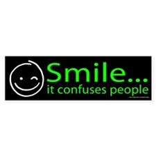 Smile Green (sticker)