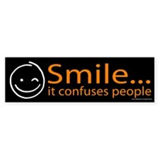 Smile Orange (sticker)