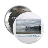 "Downtown Vancouver BC 2.25"" Button (10 pack)"