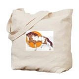 Spanish Mustang Tote Bag