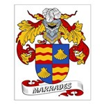 Marrades Coat of Arms Small Poster