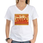 Hot Stuff Women's V-Neck T-Shirt