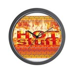 Hot Stuff Wall Clock