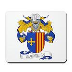 Marsilla Coat of Arms Mousepad