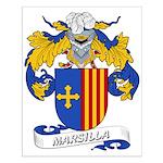 Marsilla Coat of Arms Small Poster