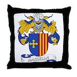 Marsilla Coat of Arms Throw Pillow