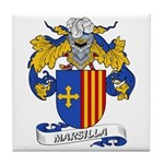 Marsilla Coat of Arms Tile Coaster