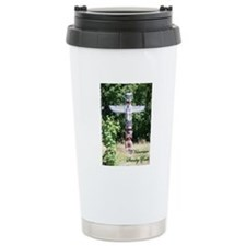 Stanley Park Totem Pole Ceramic Travel Mug