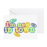 New in Town Greeting Card