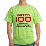 100th Birthday Green T-Shirt