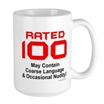 100th Birthday Large Mug