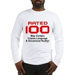100th Birthday Long Sleeve T-Shirt