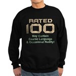 100th Birthday Sweatshirt (dark)