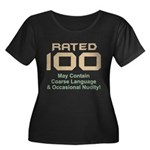 100th Birthday Women's Plus Size Scoop Neck Dark T