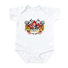 Mexican Skull Infant Bodysuit