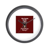 RNC Speaks Wall Clock