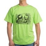 Norwich Cropper Pigeons Green T-Shirt