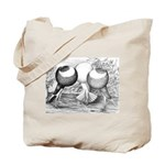 Norwich Cropper Pigeons Tote Bag