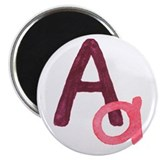 A is for Adorable Magnet
