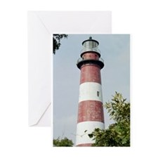 Assateague Lighthouse Photo Greeting Cards (Pk of