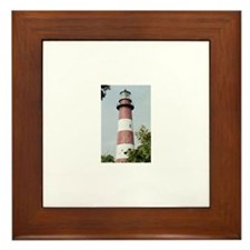 Assateague Lighthouse Photo Framed Tile