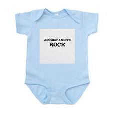 ACCOMPANISTS ROCK Infant Creeper
