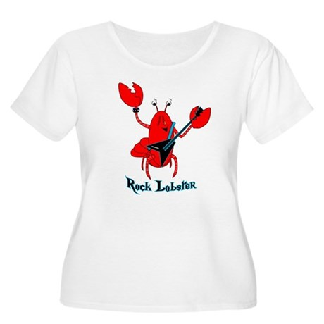 Rock Lobster Women's Plus Size Scoop Neck T-Shirt