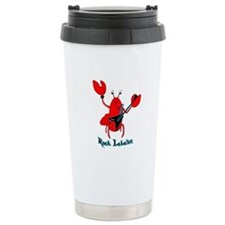 Rock Lobster Ceramic Travel Mug