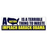 Anti Barack Obama Bumper Sticker (10 pk)