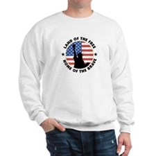 Land of the Free Statue Sweatshirt