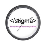End Stigma HTML Wall Clock