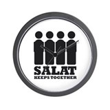 Salat Keeps Together Clock