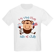 My 1st 4th Boy Monkey T-Shirt