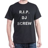 &quot;DJ Screw&quot; Black T-Shirt