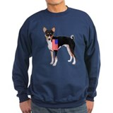 Basenji with flag Sweatshirt