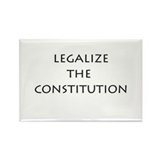 Legalize the Constitution Rectangle Magnet (10 pac